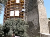 Baku the Maiden Tower undergoing restoration